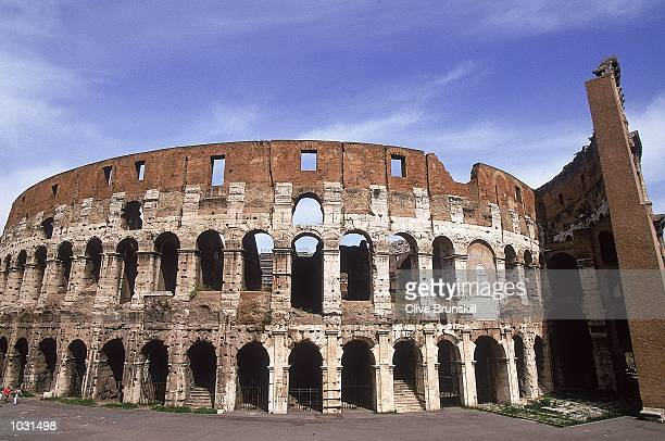 General view of the Colosseum in Rome during the Italian Open in Italy Mandatory Credit Clive Brunskill /Allsport