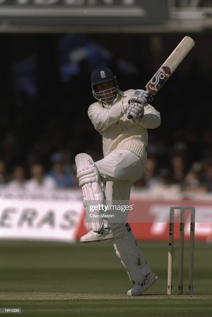 Ben Hollioake of England batting during the third Texaco One Day International Trophy against Australia at Lords Cricket Ground in London England...