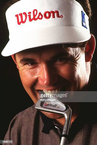 Portrait of Padraig Harrington of the Republic of Ireland during the Volvo PGA Championships at Wentworth Golf Club in Surrey England Mandatory...