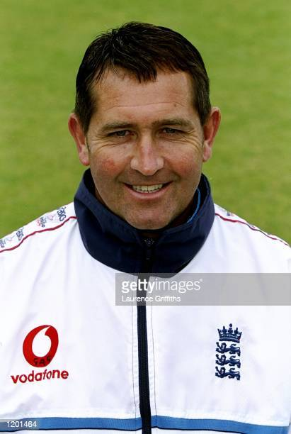 Portrait of England coach Graham Gooch Mandatory Credit Laurence Griffiths /Allsport