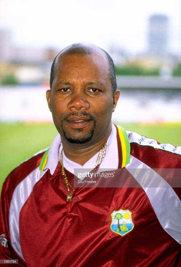 Portrait of West Indies coach Malcolm Marshall Mandatory Credit Stu Forster /Allsport