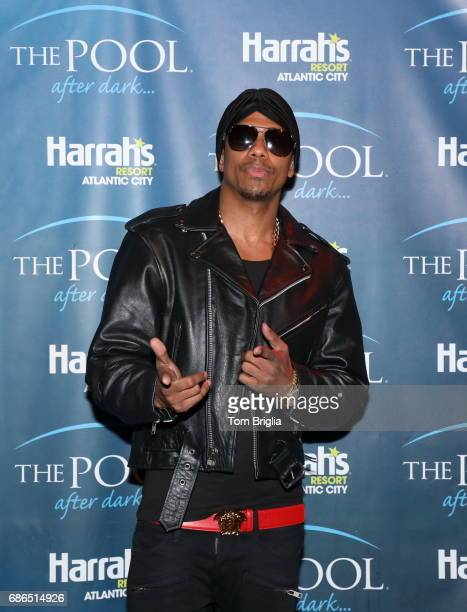 Nick Cannon performs at The Pool After Dark at Harrah's Resort on Saturday May 20 2017 in Atlantic City New Jersey