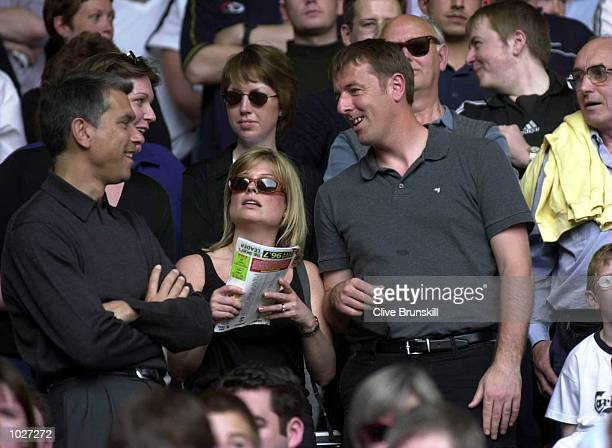Matt Le Tissier in the crowd during the FA Carling Premiership match between Liverpool and Southampton at Anfield Liverpool Mandatory Credit Clive...