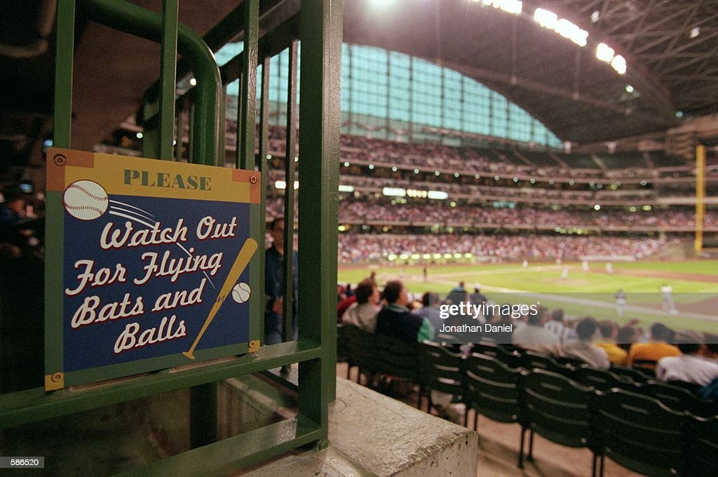 A general view of the Brewers'' new Stadium Miller Park in Milwaukee WisconsinMandatory Credit Jonathan Daniel /Allsport