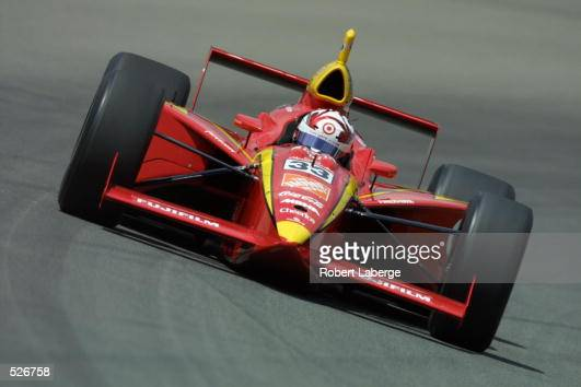 Tony Stewart drives his Galles Racing G Force Oldsmobile during practice on Carb Day of the Indianapolis 500 at the Indianapolis Motor Speedway in...