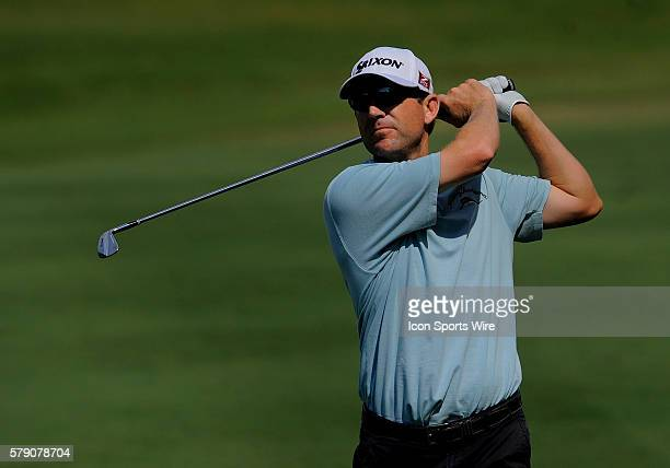 George McNeill during the second round of the Players Championship at TPC Sawgrass in Ponte Vedra Beach Florida