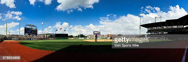 30 May 2014 NCAA Regional LSU Tigers v Southeastern Louisiana Alex Box Stadium during a game in Baton Rouge Louisiana