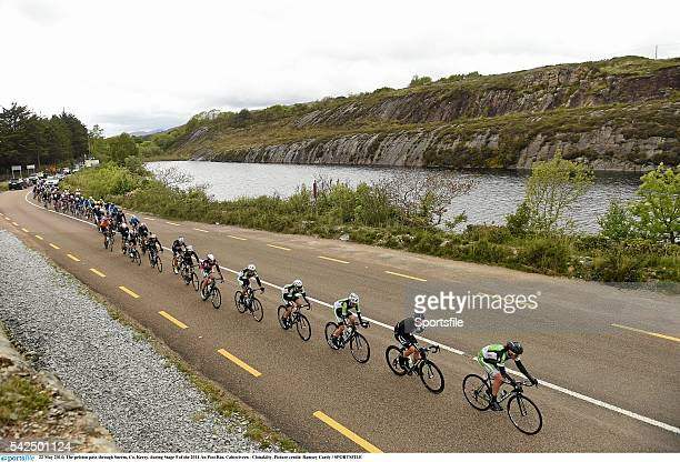 22 May 2014 The peloton pass through Sneem Co Kerry during Stage 5 of the 2014 An Post Rás Cahirciveen Clonakilty The An Post Rás is an annual...