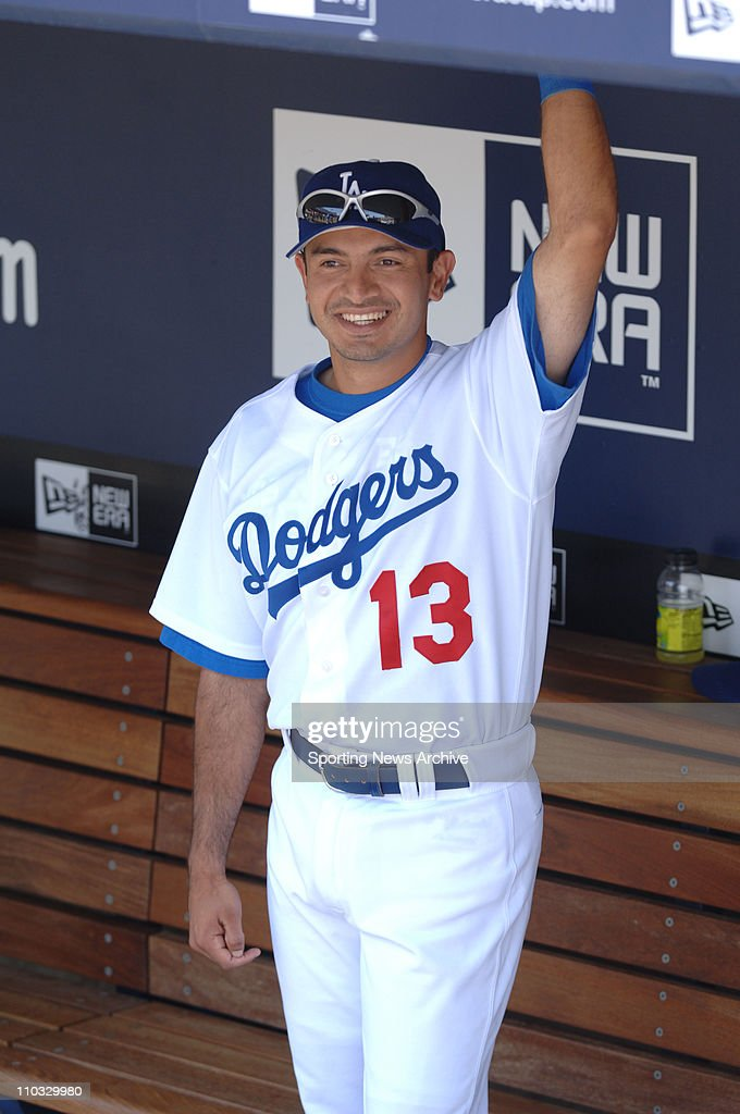 May 22 2005 Los Angeles CA USA Los Angeles Angels of Anaheim against Los Angeles Dodgers Oscar Robles on May 22 2005 in Los Angeles Calif The Dodgers...