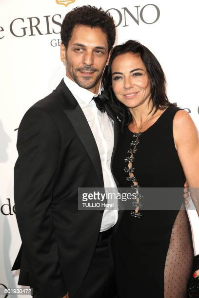 De Grisogono event given by the jeweler Fawaz Gruosi at the Cap Eden Roc hotel in Antibes during the 70th edition of the Cannes Film Festival Tomer...