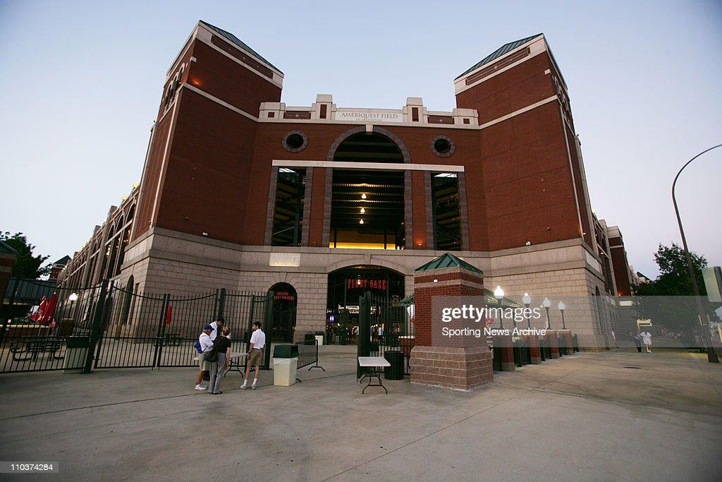 May 25 2006 Arlington TX USA The Ameriquest Ballpark in Arlington