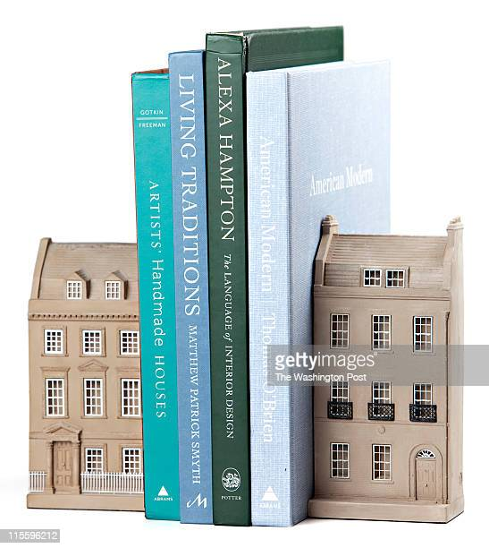 House bookends for wedding gift guide photographed on May 25 2011 in Washington DC