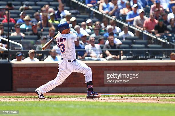 New York Mets Left field Michael Cuddyer [2799] watching a 2 run home run during a MLB National League game between the Philadelphia Phillies and the...