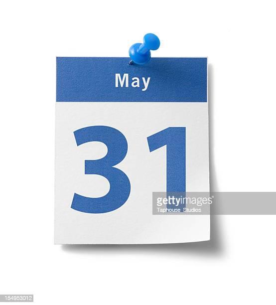 May 31st Calendar