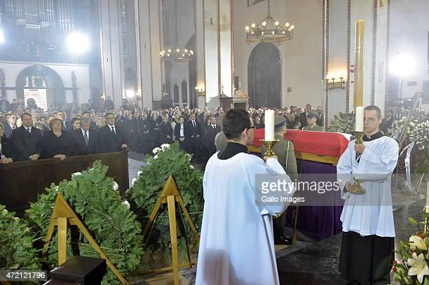 Marshal of the Sejm Radoslaw Sikorski First Lady Anna Komorowska President of Germany Joachim Gauck President of Poland Bronislaw Komorowski and...