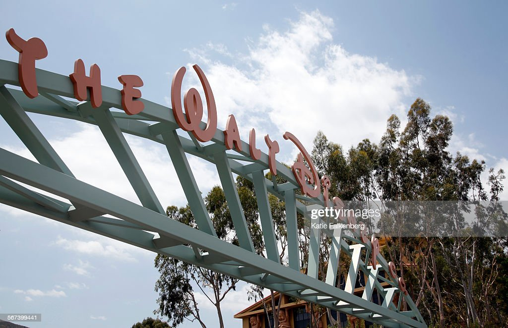 May 6 2014 The main gate of The Walt Disney Company's headquarters in Burbank