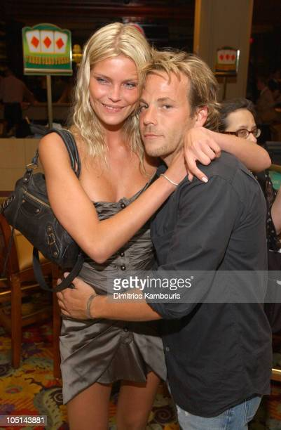 May Andersen and Stephen Dorff during Borgata Hotel Casino and Spa Grand Opening at Borgata Hotel Casino and Spa in Atlantic City New Jersey United...