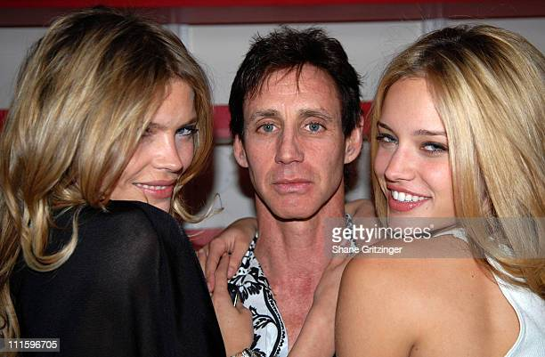 May Andersen Stuart Hirsch and Julie Ordon during Grand Opening of the Stuart Hirsch Lite Touch Salon in New York City April 25 2007 at Stuart Hirsch...