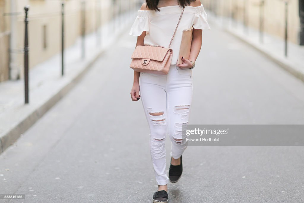 street style   paris   may 2016 getty images