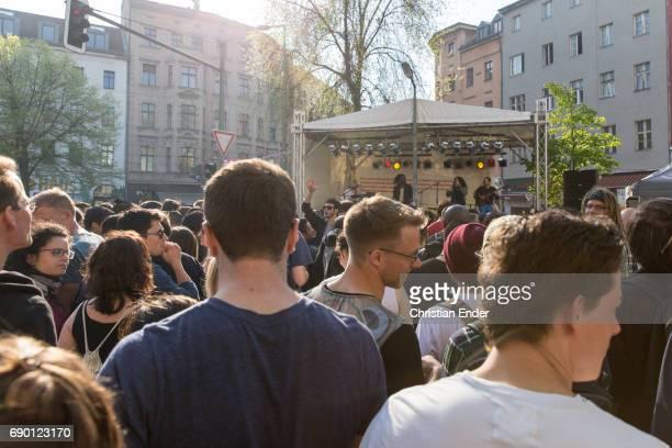 May Day in Berlin Kreuzberg, Germany