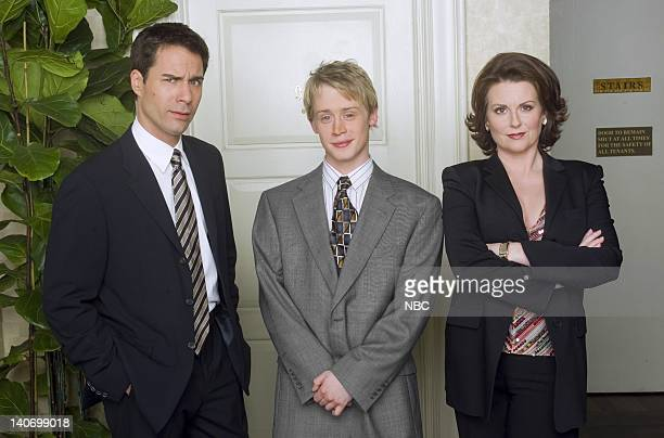 WILL GRACE 'May Divorce Be with You' Episode 22 Pictured Eric McCormack as Will Truman Macaulay Culkin as Jason 'JT' Towne Megan Mullally as Karen...