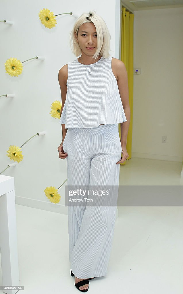 DJ May Kwok attends Hamptons Magazine celebrates The New Lisa Perry store on June 14, 2014 in East Hampton, New York.