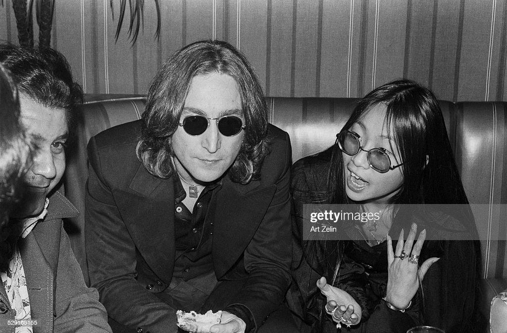 May Pang John Lennon at the Beacon Theatre circa 1970 New York