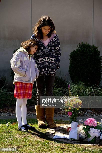 Maya and Sayaka Yamamoto visit the Japanese Embassy to honor the victims of the earthquake and tsunami's in Japan March 13 2011 A massive earthquake...