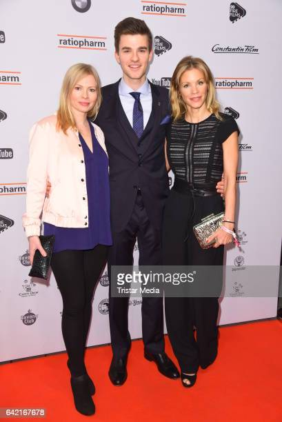 Maya Bothe Patrick Moelleken and Nina Friederike Gnaedig attend the 99FireFilmsAward at Admiralspalast on February 16 2017 in Berlin Germany