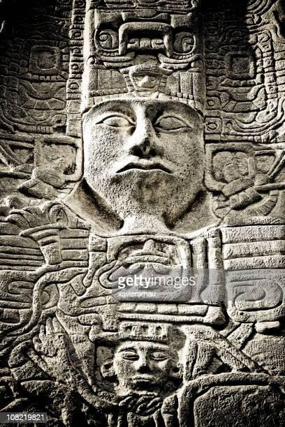 Maya-Skulptur