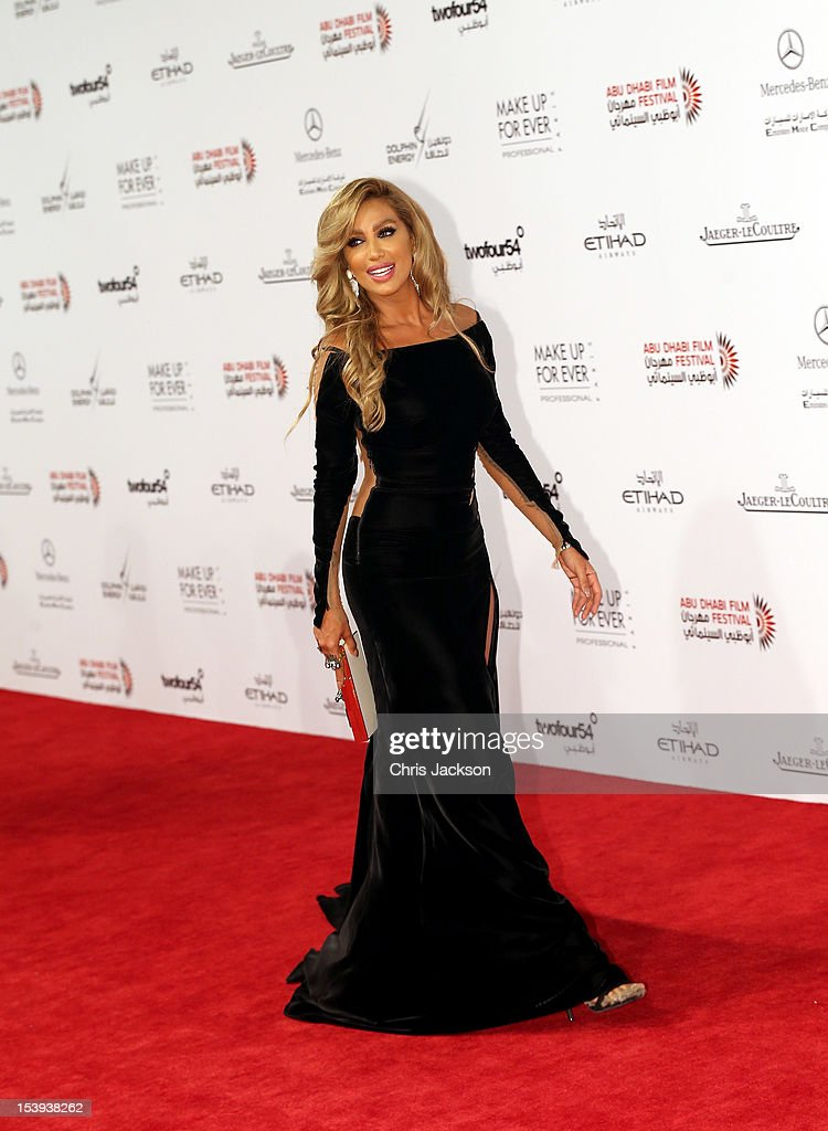 Maya Diab attends day one of the Abu Dhabi Film Festival 2012 at Emirates Palace on October 11, 2012 in Abu Dhabi, United Arab Emirates.