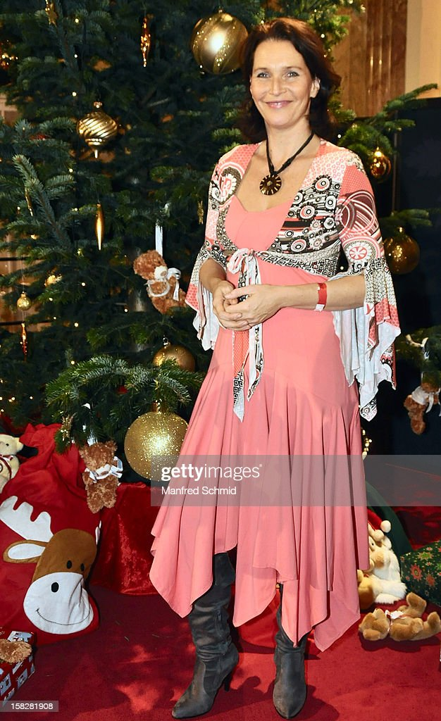 Maya Hakvoort attends the Christmas ball for children Energy For Life - Heat For Children's Hearts at Hofburg Vienna on December 11, 2012 in Vienna, Austria.