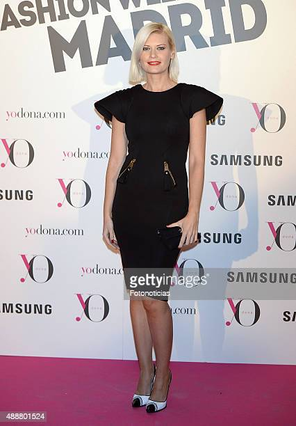 Maya Hansen attends the 'Yo Dona' Party at the NH Collection Eurobuilding Hotel on September 17 2015 in Madrid Spain