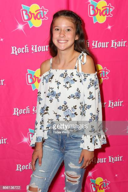 Maya Hill at Rock Your Hair Presents Rock Back to School Concert Party on September 30 2017 in Los Angeles California