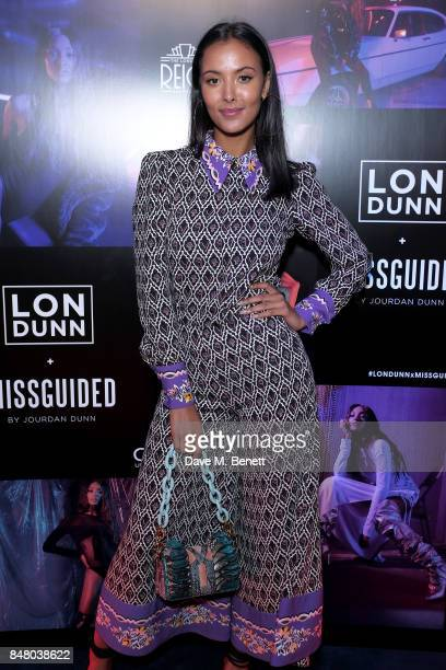 Maya Jama attends LON DUNN x Missguided Official Launch Party Hosted by Jourdan Dunn at The London Reign on September 16 2017 in London England