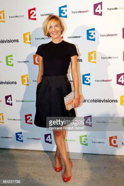 Maya Lauqu attends the 'Rentree De France Televisions' at Palais De Tokyo on August 26 2014 in Paris France