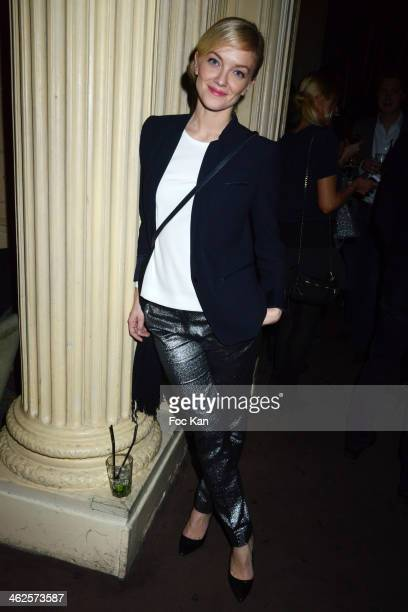 Maya Lauque attends the 'Les Gerard De La Television 2014' Award Ceremony At La Cigale and After Party at Le Carmen In Paris on January 13 2014 in...