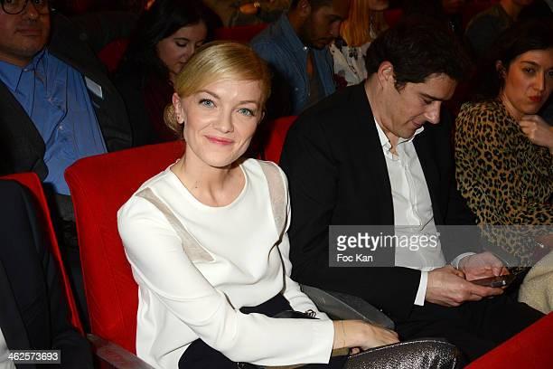 Maya Lauque attends the 'Les Gerard De La Television 2014' Award Ceremony At La Cigale In Paris on January 13 2014 in Paris France