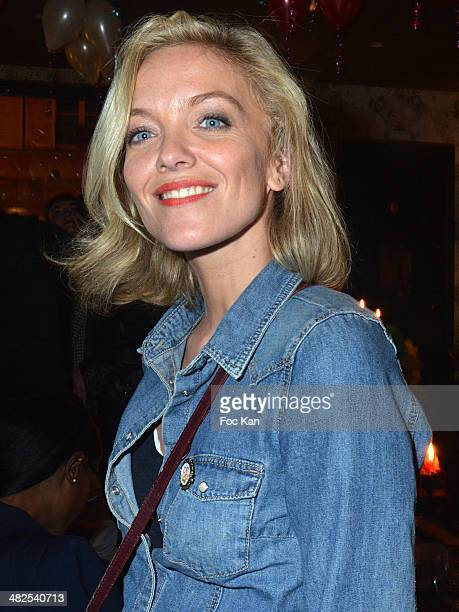 Maya Lauque attends the Matthieu Chedid In Concert at the Bus Palladium Anniversary Party on April 3 2014 in Paris France