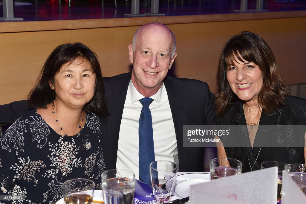 Maya Lin, Paul Goldberger, and Kay Unger attend the NYSCF Gala & Science Fair at Jazz at Lincoln Center on October 16, 2017 in New York City.