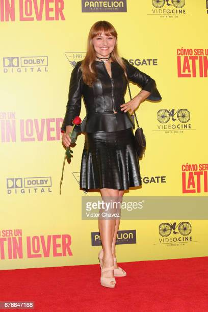 Maya Mishalska attends the 'How To Be A Latin Lover' Mexico City premiere at Teatro Metropolitan on May 3 2017 in Mexico City Mexico