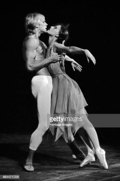 Maya Plisetskaya and Alexander Godunov in the Ballet The Death of the Rose by Gustav Mahler