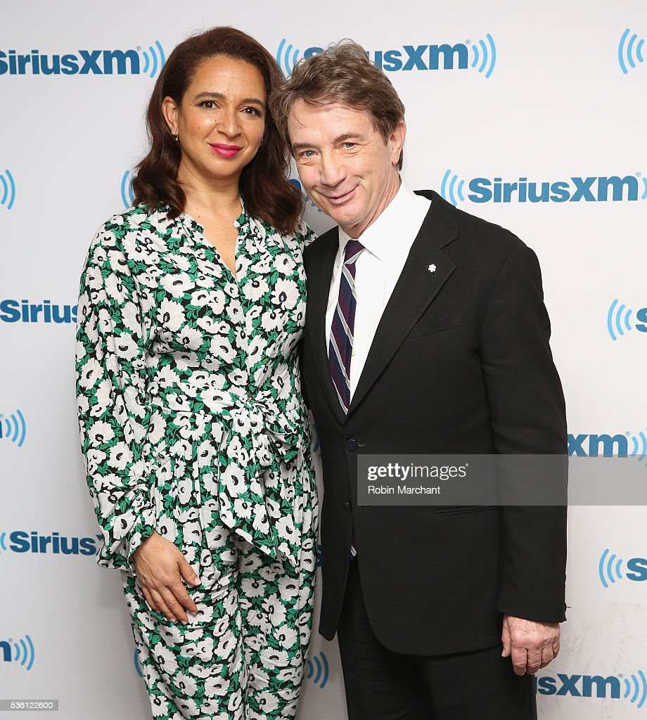 <a gi-track='captionPersonalityLinkClicked' href=/galleries/search?phrase=Maya+Rudolph&family=editorial&specificpeople=857236 ng-click='$event.stopPropagation()'>Maya Rudolph</a> and <a gi-track='captionPersonalityLinkClicked' href=/galleries/search?phrase=Martin+Short&family=editorial&specificpeople=211569 ng-click='$event.stopPropagation()'>Martin Short</a> visit at SiriusXM Studio on May 31, 2016 in New York City.