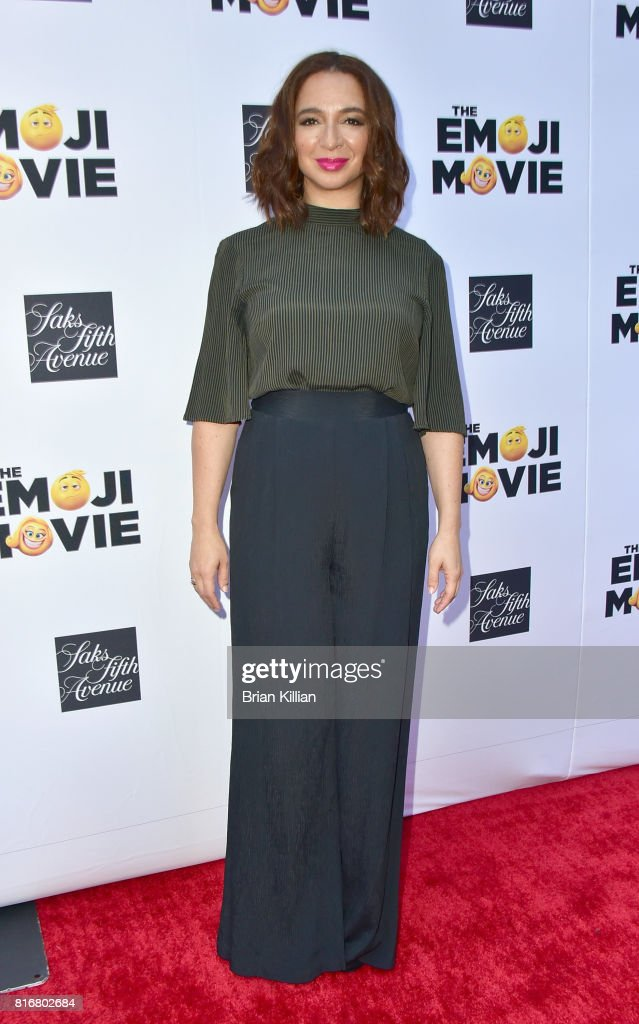 Maya Rudolph attends the Saks Celebrates World Emoji Day event at Saks Fifth Avenue on July 17, 2017 in New York City.
