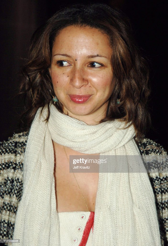 Maya Rudolph of 'Saturday Night Live' during 20th Annual Rock and Roll Hall of Fame Induction Ceremony - Red Carpet at Waldorf Astoria Hotel in New York City, New York, United States.