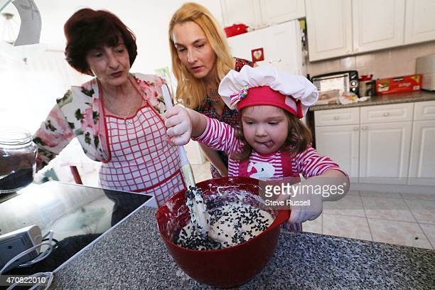 Maya runs and her mother Srdjana Jaksic and grandmother Ljubica Jaksic bake Srdjana Jaksic was worried that the window of opportunity for becoming a...