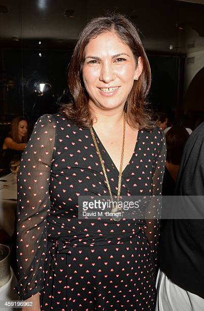 Maya Sanbar attends a dinner hosted by PORTER in honour of cover girl Christy Turlington Burns and her charity Every Mother Counts at Mr Chow on...