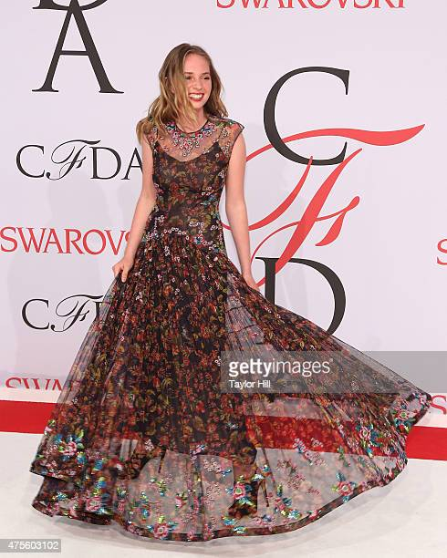 Maya ThurmanHawke attends the 2015 CFDA Awards at Alice Tully Hall at Lincoln Center on June 1 2015 in New York City