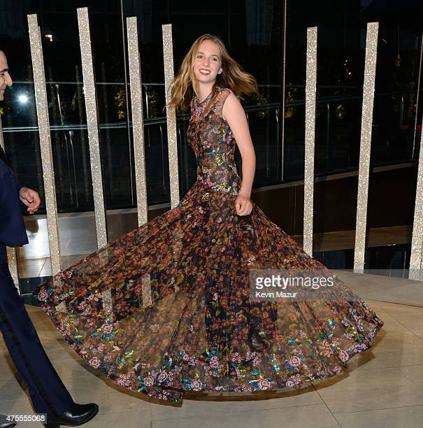 Maya ThurmanHawke attends the 2015 CFDA Fashion Awards at Alice Tully Hall at Lincoln Center on June 1 2015 in New York City