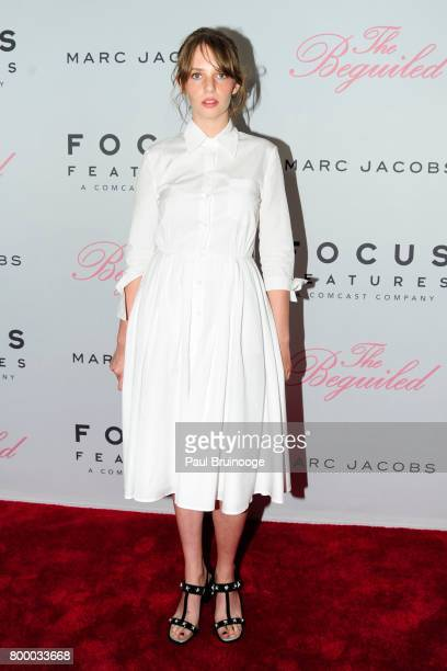 Maya ThurmanHawke attends 'The Beguiled' New York Premiere Arrivals at Metrograph on June 22 2017 in New York City